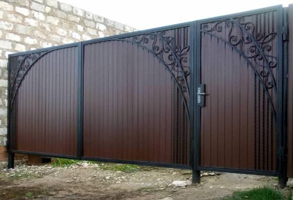 Установка и монтаж ворот и калитки под ключ