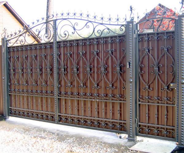 Установка и монтаж ворот и калитки
