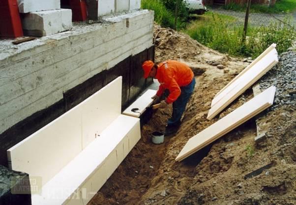 Утепление и гидроизоляция подвалов в жилых зданиях и коттеджах