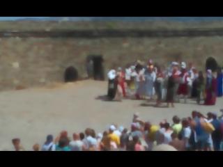 15-ый рыцарский турнир в генуэзской крепости в городе Судак