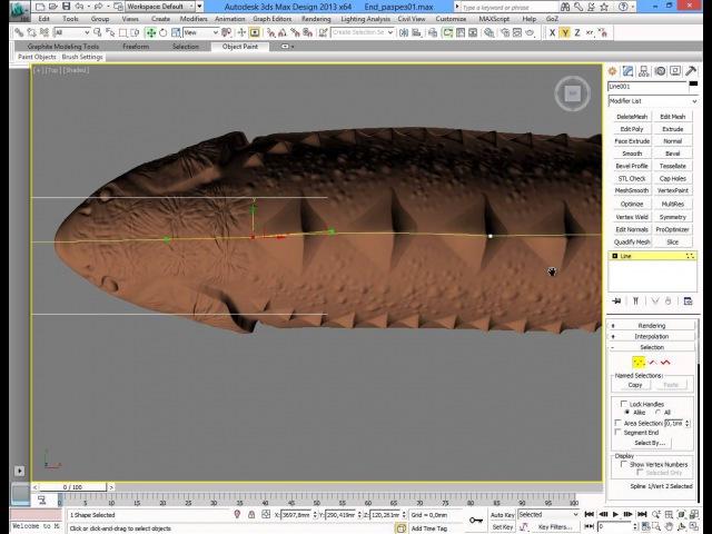 Подготовка модели в 3dsMax для ArtCam