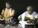 Ustad Ali Akbar Khan and Pandit Swapan Chaudhuri 1986 Raga Jhinjhoti