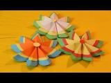 Украшения на елку своими руками из бумаги - бумажные цветы своими руками