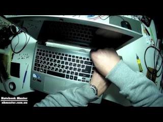 Как разобрать ноутбук aspire v5 series ms2361 / How to disassemble Acer v5 series