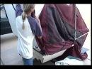 Bunkhouse camper setup-Motorcycle camper