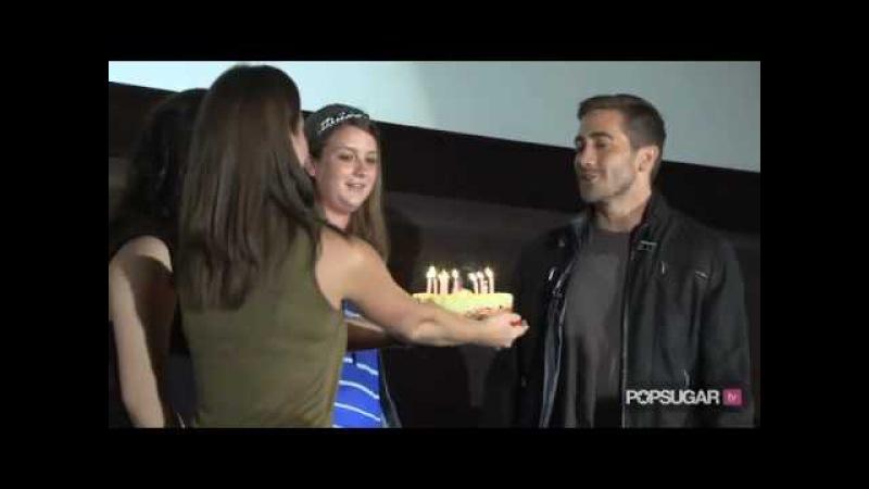 Jake Gyllenhaal's Big Birthday Surprise: I'm a Huge Fan! Part 3