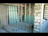 ПЕРЕГОРОДКА из гипсокартона, сдвоенный профиль CD. Partition wall, plasterboard.