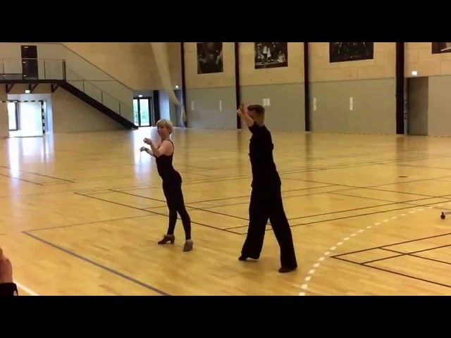 Summer Dance Camp 2015 - Peter and Kristina Stokkebroe - cha cha sdc2015