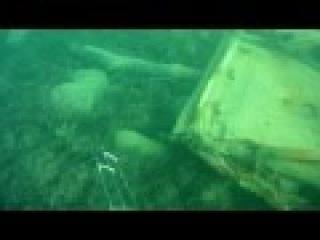 неожиданная находка на дне черного моря во время подводной охоты.