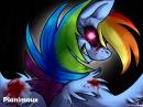 Rainbow Factory Dash, Butchershy et Pinkamena Diane Pie