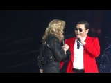 Madonna And Psy - MDNA Give It 2 Me  Gangnam Style  Music - Madison Square Garden