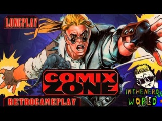 Gameplay - Sega Mega Drive - Comix Zone - Longplay