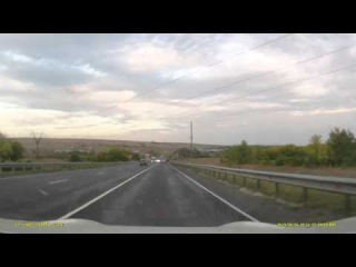 ДТП на трассе в Саратовской области недалеко от Балаково Автор пишет, что водитель Приоры пьян