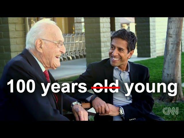100 years old Ellsworth Wareham - CNN's Sanjay Gupta Reports