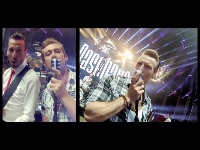 The Baseballs - Call me maybe - RocknRoll Cover VIRTUAL CROWDSURFING!