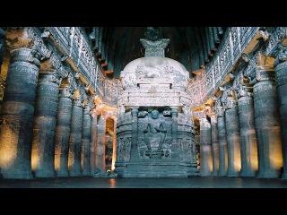 Грандиозные скальные храмы Индии - Аджанта - Эллора.