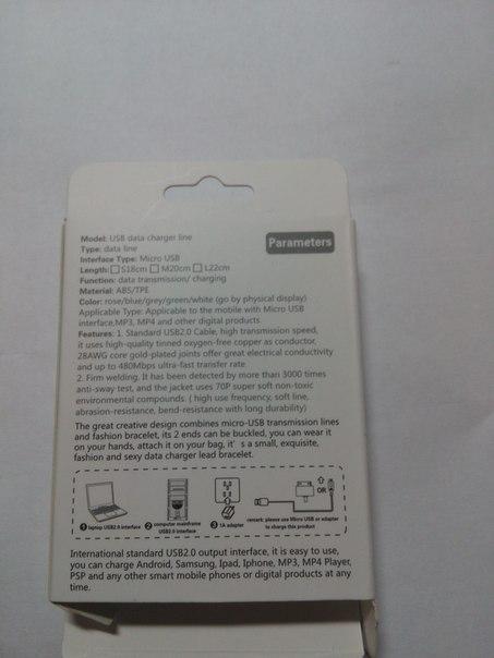 DD4: Обзор кабеля-браслета usb/micro-usb
