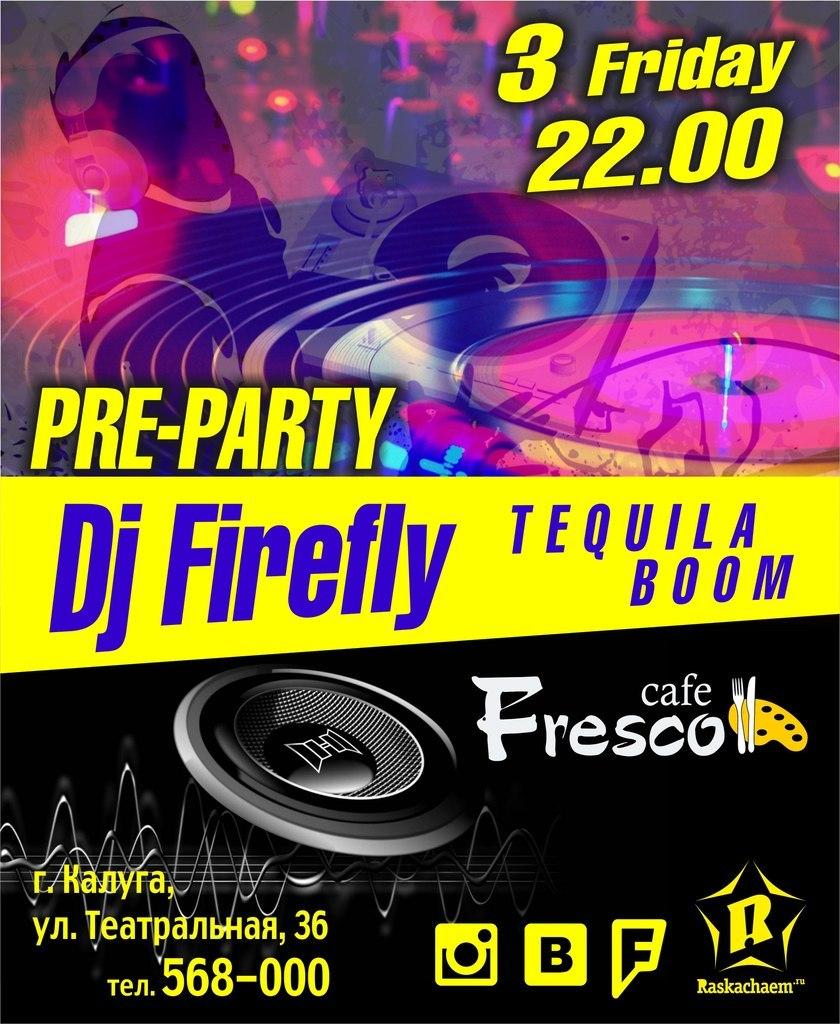 Афиша Калуга Friday`s pri-party в Cafe FRESCO