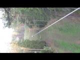 Полет Нади в Орехе! 200 метров это вам не шутка!!!