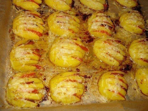 Блюдо красивое из картошки