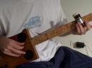 ~BottleNeck Cigar Box Guitar ~ 1880's 3 string guitar ~ Red Dog Guitars
