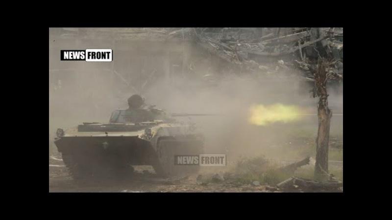 Под командованием Гиви бой ведет тактическая группа Сомали в Донецком аэропорту. 19.06.2015