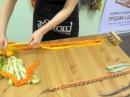 Делаем арт нити для декорирования войлочных проектов