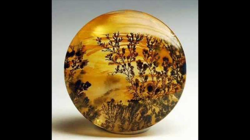 Драгоценные камни и минералы Моховой агат ( Agate )