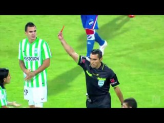 Alejandro Bernal Red Card After 20 secondes, FASTED Red Card in History of football
