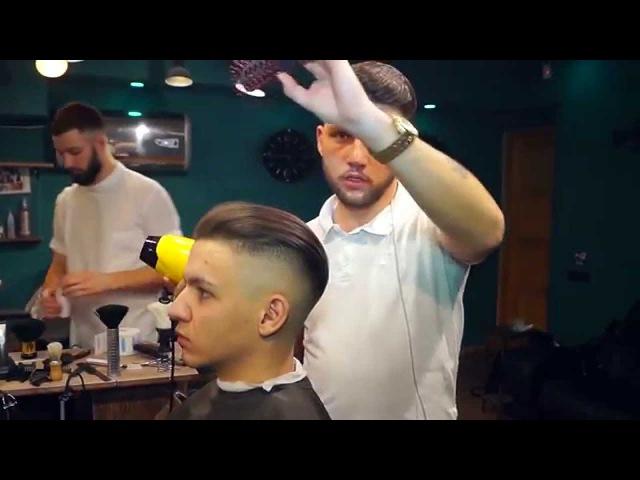 Male style guide - 2 Прическа, как у Бреда Питта (Undercut) к\ф Fury Hairstyle, like Brad Pitt