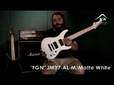 FGN Guitars Japan JMY7-AL-M Electric Guitar Demo &amp Review With John Browne (Monuments)