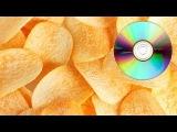 Как сделать чипсы быстрее при помощи CD диска в домашних условиях своими руками