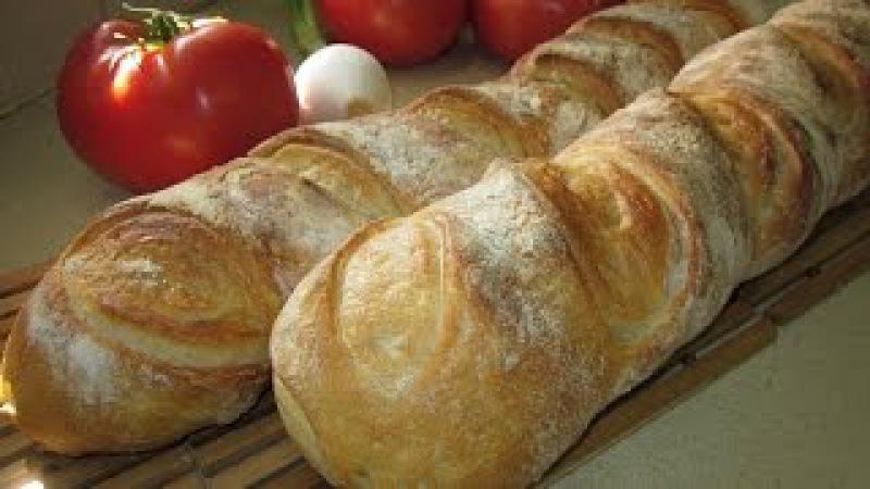 Рецепт- Французский багет » Freewka.com - Смотреть онлайн в хорощем качестве