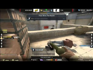 ScreaM vs. NaVi - 4 TAPTAP Headshots! | CEVO Professional Season 8 Finals