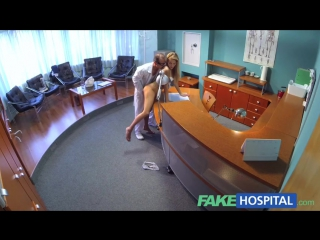 Sexy Skinny Blonde Babe Gets Fucked In The Office