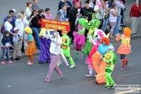 07 июня 2015 - Шествие участников 14го фестиваля гандбола и автопарад на день города Тольятти