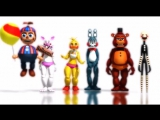 [MMD FNAF]Five Nigths at Freddys 2_Minions bananas song