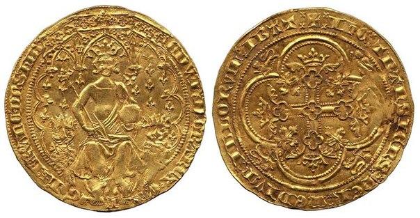 монета двойной леопард золото