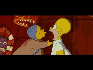 Simpsons movie Симпсоны в кино - Прозрение Гомера