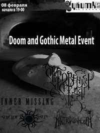 08/02/15 DOOM AND GOTHIC METAL EVENT
