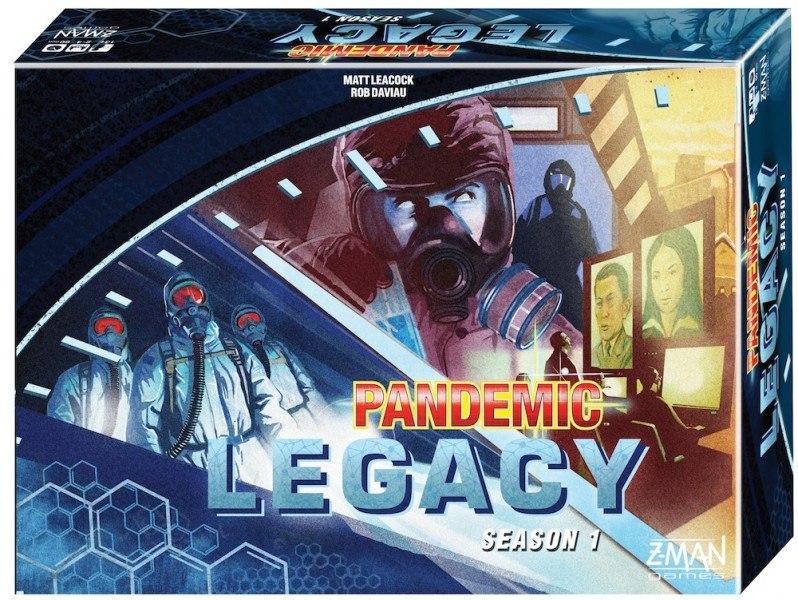 «Pandemic: Legacy», синий вариант