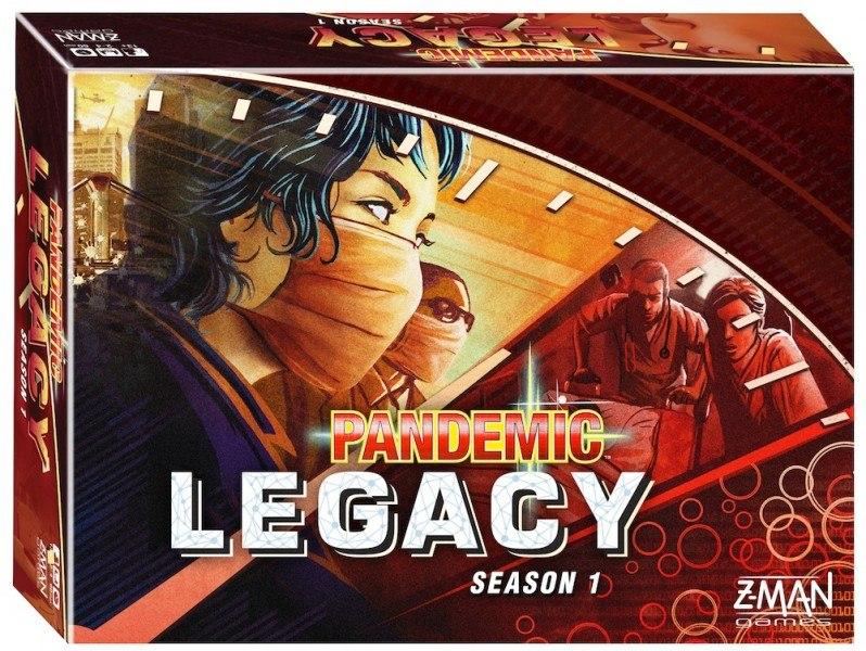 «Pandemic: Legacy», красный вариант