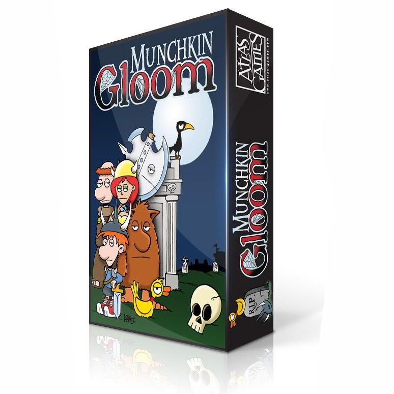 «Munchkin Gloom», модель коробки.
