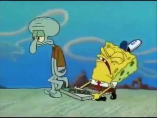 (VINE) Eminem - Desperation by Squidward and Spongebob