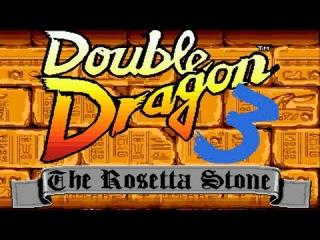Double Dragon #3: The Rosetta Stone (Sega Mega Drive/Genesis).