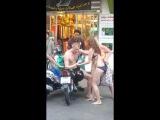 Пьяный русский турист опозорился в Паттайе (Тайланд)