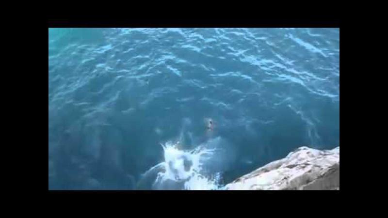 Kayalıklardan Tehlikeli Atlayış