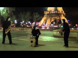 BLOW under the Eiffel Tower