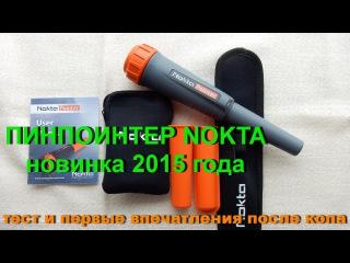 Пинпоинтер Nokta. Новинка 2015 года. Тест и первые впечатления после копа