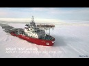 ЛЕДОКОЛ НА БАЛТИКЕ (Oblique Icebreaker Baltika - Ice trials on 19 March - 10 April 2015)